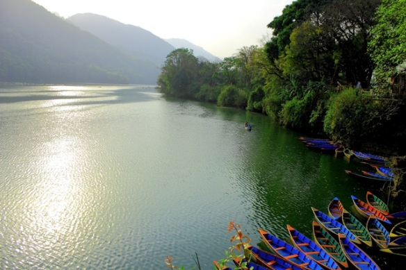 A mesmerizing view of the Phewa lake - Pokhara