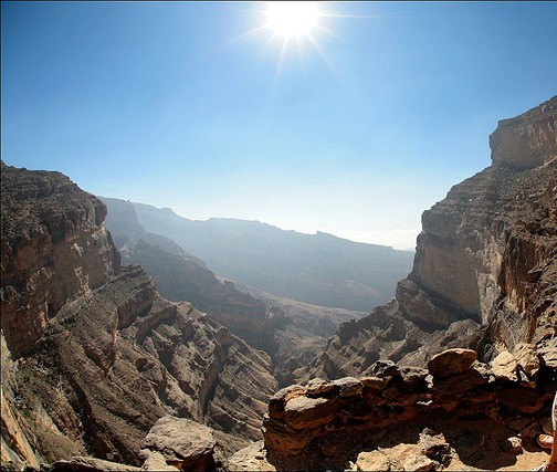 Oman's Grand Canyon - Jabal Shams.