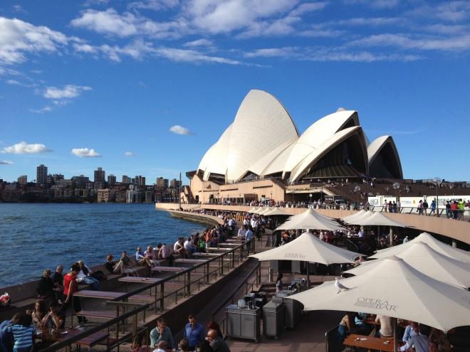 The stunning opera house of Sydney!