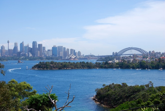 View of Sydney from Taronga