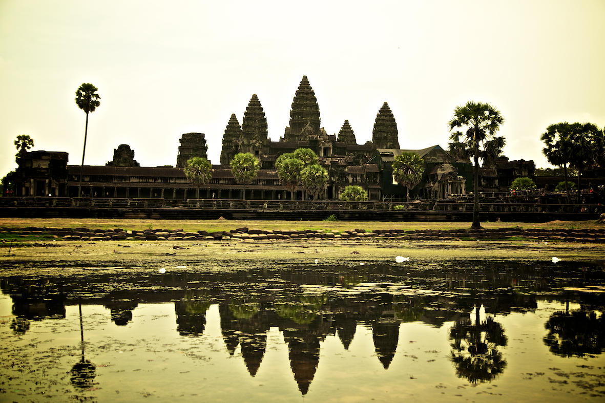 Angkor Wat, the architectural masterpiece.
