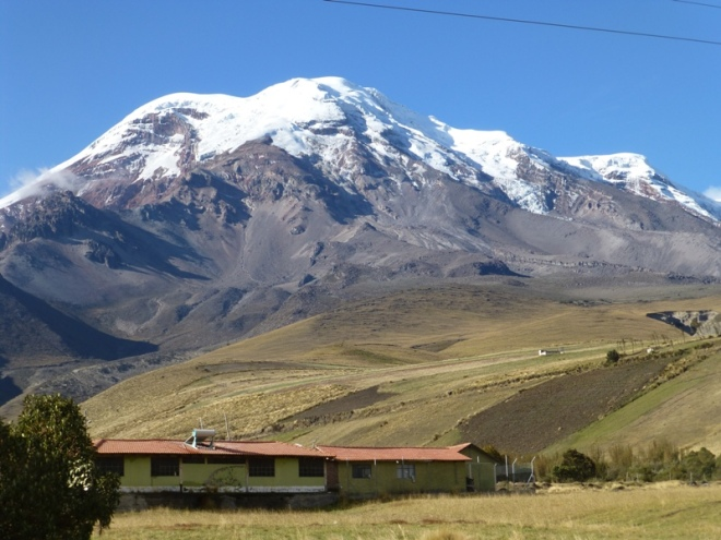 The majestic Chimborazo