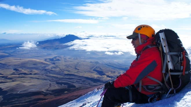 Stunning view of Cotopaxi summit - at last...