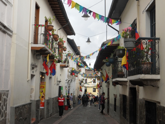 Old town of Quito